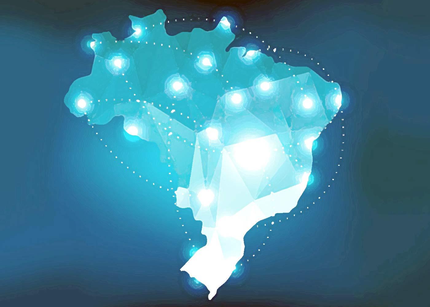 MApa do Brasil cobertura Transportes Montone